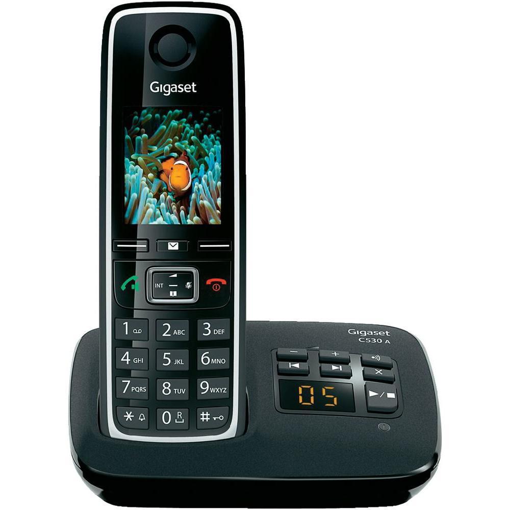 c530a black gigaset mobile phone. Black Bedroom Furniture Sets. Home Design Ideas