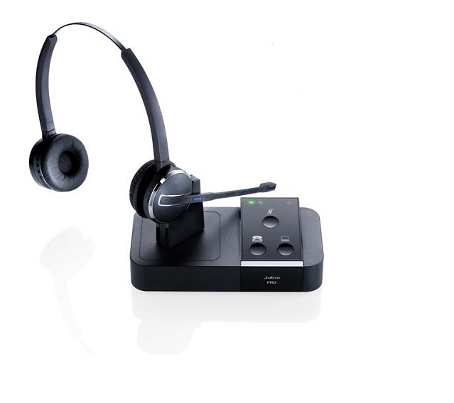Buy Jabra Pro 9450 Duo Wireless Headset 283: Pro 9450 Flex Duo Jabra : Phone Headsets