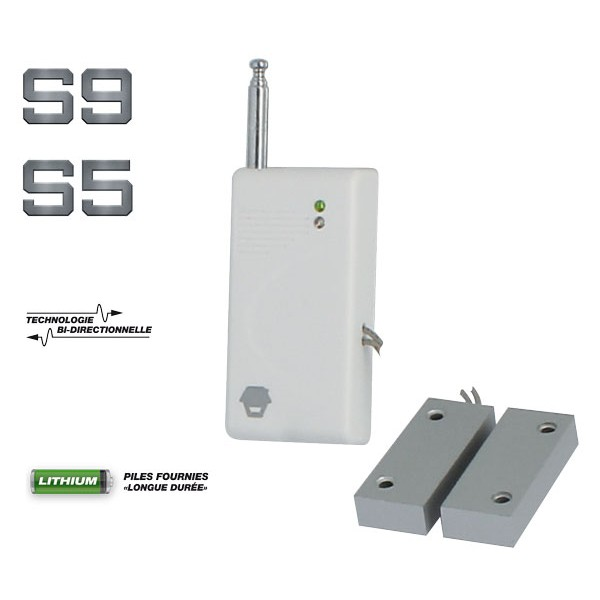 D tecteur d 39 ouverture de porte m tallique sedea intruder for Porte metallique
